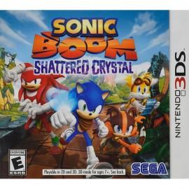 Sonic Boom Shattered Crystal Nintendo 3DS - Envío Gratuito