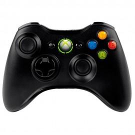 Control Inalámbrico Negro Xbox 360