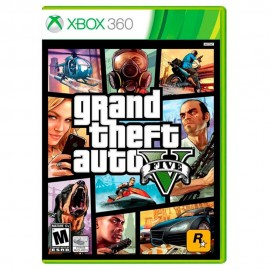 Grand Theft Auto V Xbox 360 - Envío Gratuito