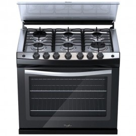 "Whirlpool Estufa Empotrable 30"" WE5650B - Negro"