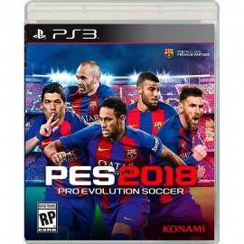 Pro Evolution Soccer 2018 PS3 - Envío Gratuito