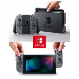 Consola Nintendo Switch con Controles Joy Con Gris con Negro - Envío Gratuito