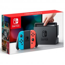 Consola Nintendo Switch Neon - Envío Gratuito