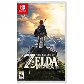 The Legend of Zelda Breath of Wild Nintendo Switch - Envío Gratuito