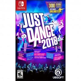 Just Dance 2018 Nintendo Switch - Envío Gratuito