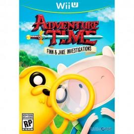 Adventure Time Finn And Jake Wii U - Envío Gratuito