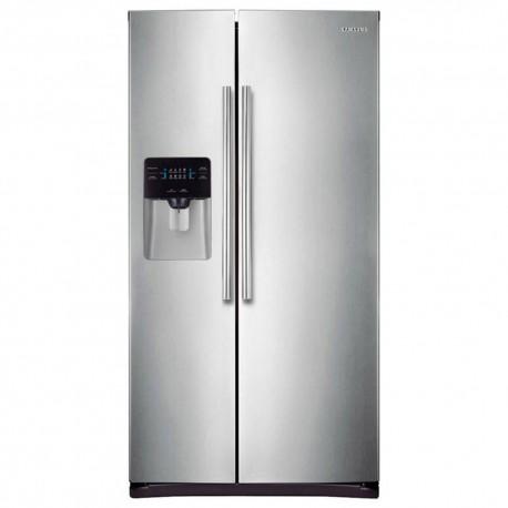 Samsung Refrigerador 25 pies RS25J5008SP EM Platinum Inox - Envío Gratuito