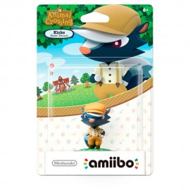 Figura Amiibo Kicks Animal Crossing - Envío Gratuito