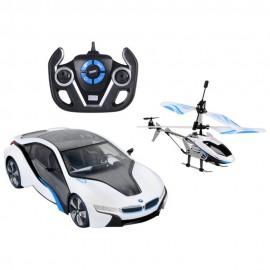 Auto y Helicóptero Radio Control - Envío Gratuito