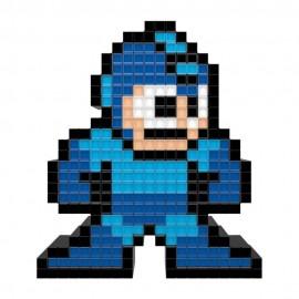 Figura Lámpara Pixel Megaman Azul