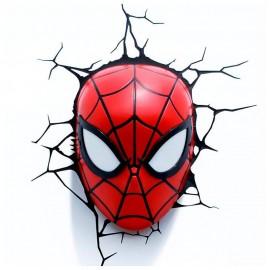 Máscara Spiderman Lámpara 3D