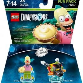 Lego Dimensions Simpson Krusty el Payaso Fun Pack - Envío Gratuito