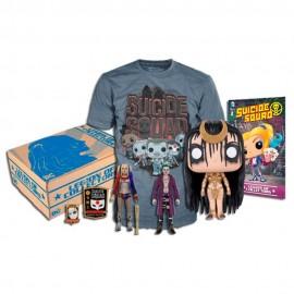 DC Suicide Squad Kit Coleccionable Grande - Envío Gratuito