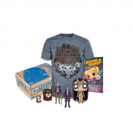 DC Suicide Squad Kit Coleccionable Mediano - Envío Gratuito