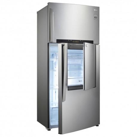 LG Refrigerador 18 Pies³ Multi Air Flow GT50MDP Platinum Silver - Envío Gratuito
