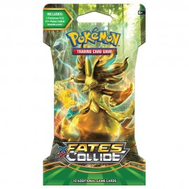 Pokemon Xy Fate Collides Slvd Boos Sleeved Booster 24 - Envío Gratuito