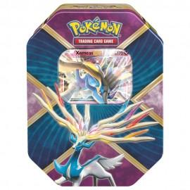 Caja Pokémon con 3 Sobres Tin Shiny Xerneas