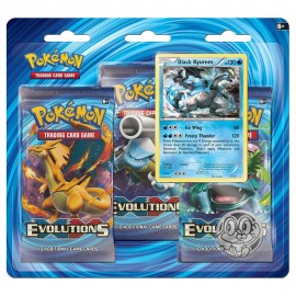 Pokemon Xy Evolution 3pack Boo 3pack Booster Blister 24 - Envío Gratuito