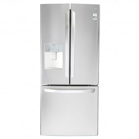 LG Refrigerador 22 Pies³ GF22WGS Plata - Envío Gratuito