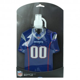 Foldable Jersey Water Bottle New England Patriots - Envío Gratuito