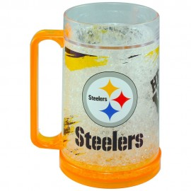 Crystal Freezer Mug Pittsburgh Steelers - Envío Gratuito