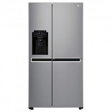 LG Refrigerador 22 Pies³ GS65SDP1 Plata - Envío Gratuito
