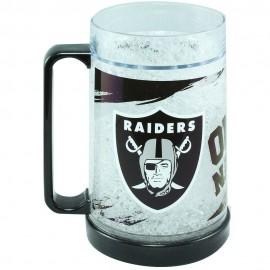 Crystal Freezer Mug Oakland Raiders - Envío Gratuito