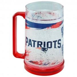 Crystal Freezer Mug New England Patriots - Envío Gratuito