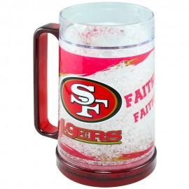 Crystal Freezer Mug San Francisco 49 Ers - Envío Gratuito