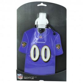 Foldable Jersey Watter Bottle Baltimore Ravens - Envío Gratuito