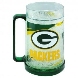 Crystal Freezer Mug Green Bay Packers - Envío Gratuito