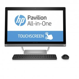 HP Pavilion All-in-One 27-a201la 12GB RAM HDD 2TB 5400RPM 3.5 CPU I i7-7700T - Envío Gratuito