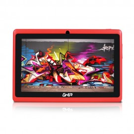 Ghia Tablet 7  Quad Core 8 GB  Rojo - Envío Gratuito
