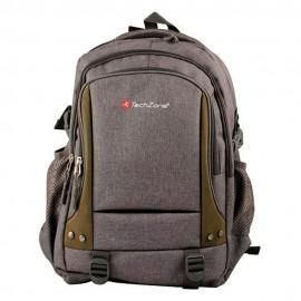 Ginga Backpack TZ16LBPG Gris Café - Envío Gratuito