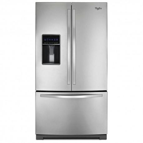 Whirlpool Refrigerador 26 pies French Door FreshFlow Acero - Envío Gratuito