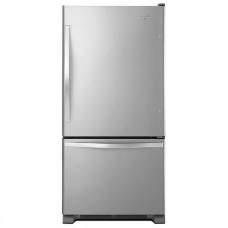 Whirlpool Refrigerador 22 Pies³ WRB322DMBM Gris - Envío Gratuito