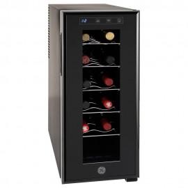 GE Cava de Vinos para 12 Botellas GW12XDBB  Negro - Envío Gratuito