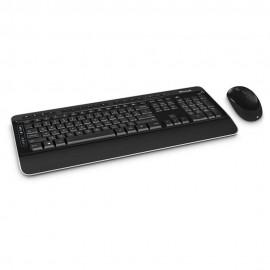 Microsoft Teclado Mouse Inalámbrico 3050 USB 6440HDO - Envío Gratuito