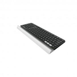 Logitech Teclado Multidispositivo K780 USB Bluetooth Negro - Envío Gratuito