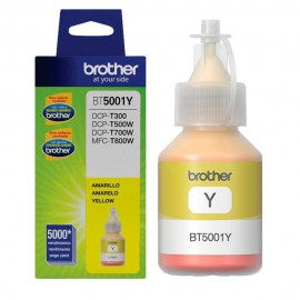 Brother Botella Tinta BT 5001Y Amarillo - Envío Gratuito