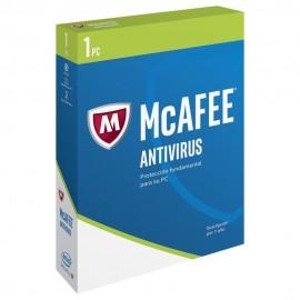 McAfee AntiVirus 2017 1 Año 1 Usuario PC - Envío Gratuito