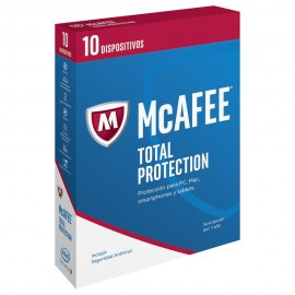 McAfee Total Protection 2017 1 año 10 Usuarios
