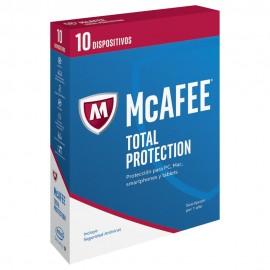 McAfee Total Protection 2017 1 año 10 Usuarios - Envío Gratuito