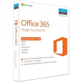 Microsoft Office 365 Hogar - Envío Gratuito