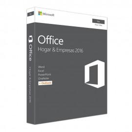 Office 2016 Mac Hogar y Empresas 6440IIH - Envío Gratuito