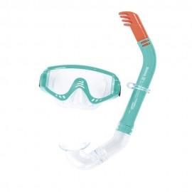 Set de Máscara Hydro Pro más Snorkel 14 Años Verde - Envío Gratuito
