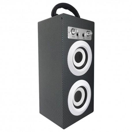 Hype Altavoz Karaoke Portátil HY-650-BLK - Negro - Envío Gratuito