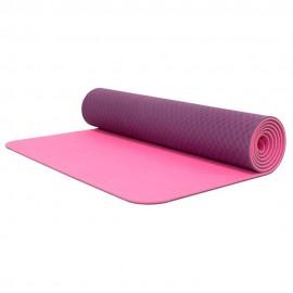 Tapete De Yoga 6 mm   Morado - Envío Gratuito