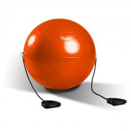 Pelota De Pilates Con Ligas 65   Naranja - Envío Gratuito